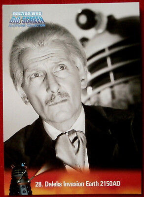 DR WHO - Big Screen Additions - Card #28 - DALEKS INVASION EARTH 2150 A.D.