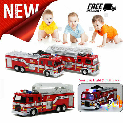 Toys For Boys Kids Fire Truck for 3 4 5 6 7 8 9 10 Years Olds Kid Car Truck Gift