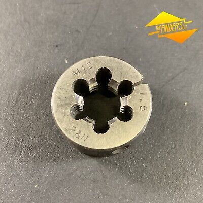 "*NOS* P&N AUST. METRIC M12mm x 1.5 BUTTON DIE 1""OD METALWORK MT3"