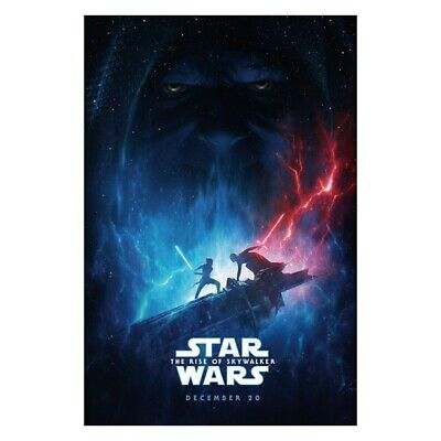 Star Wars The Rise Of Skywalker Poster Episode IX Movie Art Print Painting New