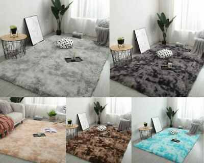 Large Soft Shaggy Rugs Fluffy Living Room Area Carpets Home Bedroom Floor Mat UK