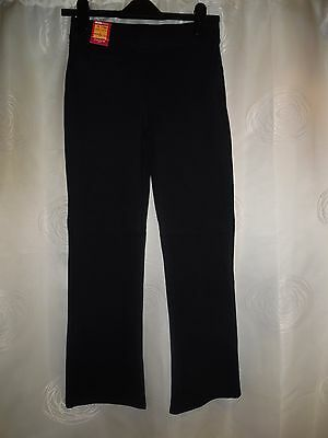 Girls M&S Black Stretch School Trousers *Aged 11-12 Years* BNWT