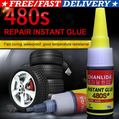 Mighty Tire Repair Glue - 100% New Free Shipping 20ML