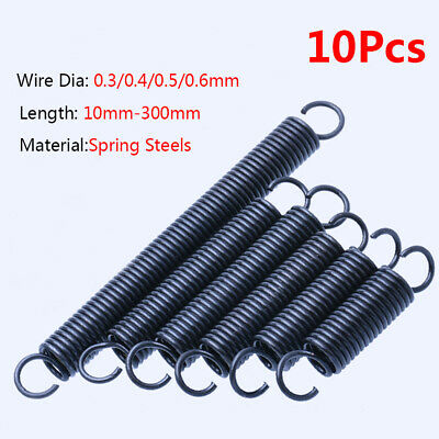 Expansion Tension Spring Loop End Wire Dia 0.3mm-4mm Length 300mm OD 3mm-36mm
