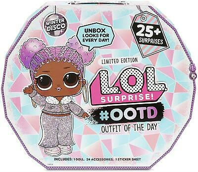 Winter Disco Outfit Of The Day L.O.L. Surprise New Official LOL Doll Christmas