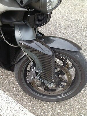 Caches Fourche Bmw K1300R Carbone Brillant