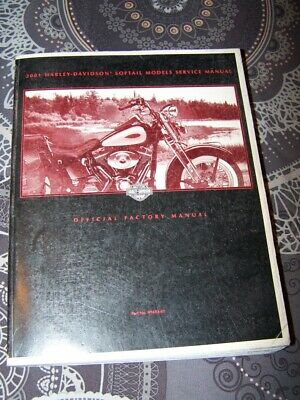 07 Service Manual Official Factory Harley davidson 2001 SOFTAIL Manuel Atelier