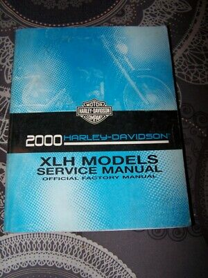 04 Service Manual Harley Davidson 2000 XLH Model Official Factory Manuel Atelier