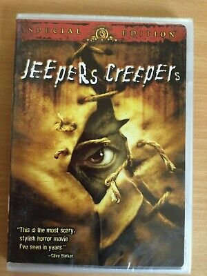 Jeepers Creepers (DVD, 2002, Special Edition) New & sealed R1