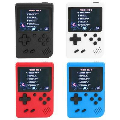 Mini Retro Handheld Game Console System 400 Games In 1 Built In Player Port D1B