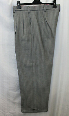 Men's 1940's Trousers WWII reenactment Oxford bags World War Two WW2 40's