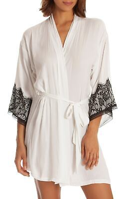 In Bloom by Jonquil Lace-Trim Wrap Robe.