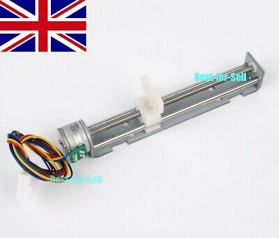 90mm Linear Screw Slider Stepper Motor 5V 2-phase 4-wire Pull Push Rod Actuator
