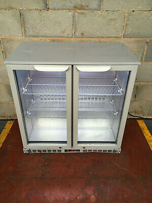 Arctica 2 Door Drinks Display/ Bar Chiller/ Cooler/ Fridge LED