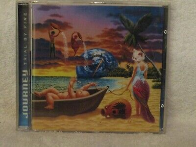 journey, trial by fire, deleted columbia cd, new not sealed
