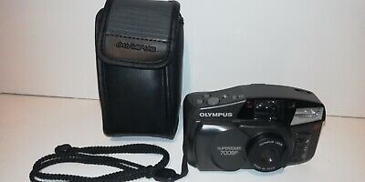 Olympus SUPERZOOM 700BF 38-70 Compact AF 35mm Film Camera fully tested working