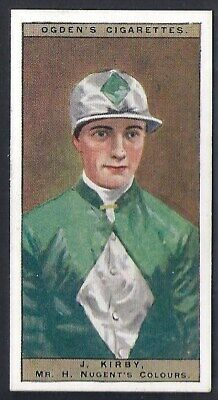 Ogdens-Jockeys & Owners Colours Horse Racing-#24- Kirby