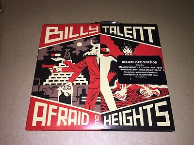 Billy Talent : Afraid of Heights CD Deluxe  x 2 Album Digipak: Punk: Rock: HMM