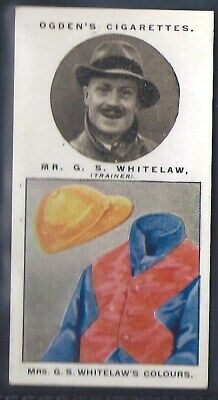 Ogdens-Steeplechase Trainers & Owners Horse Racing Colours-#45- Whitelaw