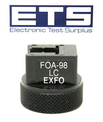 Exfo FOA-98 LC OPM Test Port Adapter For Power Meter FOT-930 FPM 600 300
