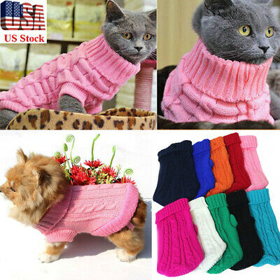 Winter Dog Clothes Puppy Pet Sweater Jacket Coat For Cat Dogs Chihuahua Apparel