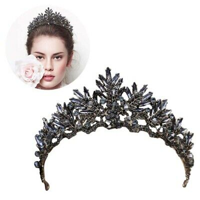 Noble Crown Baroque Exquisite Tiara Crown Headwear Hair Accessory for Women Girl