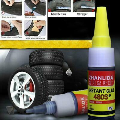Mighty Tire Repair Glue Tyre Puncture Sealant Glue Bike Car Tire Repair Patches