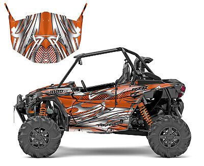 2013 2014 2015 2016 2017 2018 Polaris RZR 1000 XP Turbo Graphics Wrap Kit #1216