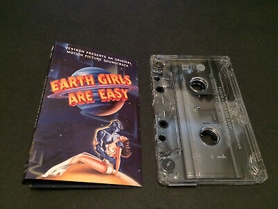 Earth Girls Are Easy Soundtrack Usa Cassette Tape The B-52'S Depeche Mode The N