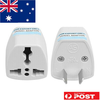UK European US EU Universal to AU Power Plug Travel Adaptor Converter AU