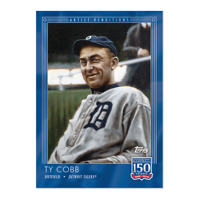 2019 Topps 150 Years of Baseball #21 Ty Cobb Detroit Tigers