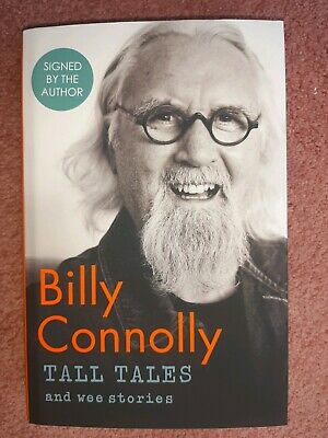 SIGNED 1ST / 1ST EDITION of TALL TALES AND WEE STORIES by BILLY CONNOLLY. New