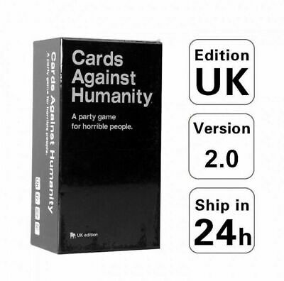 Cards Against Humanity UK Latest Edition New Sealed 600 Cards 0617401821174