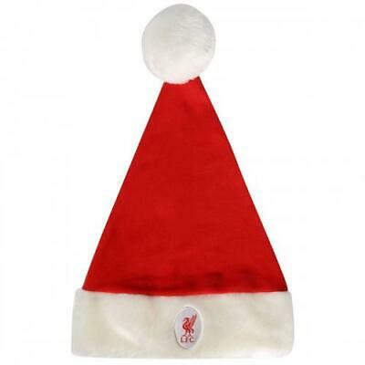 Liverpool FC Christmas Santa Hat Supersoft Cap Xmas Christmas New Football Gift