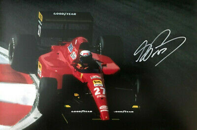 Formula 1 ~ Alain Prost ~ SIGNED PHOTO 12X8 WITH COA