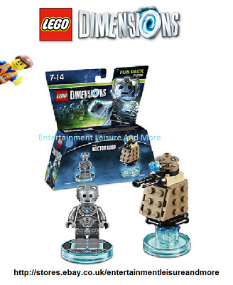 LEGO Dimensions Doctor Who Cyberman 71238 Fun (All Formats) Brand New & Sealed