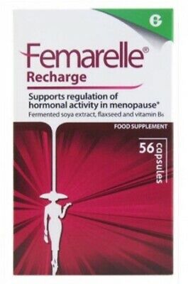 Femarelle Recharge - Supports Regulation of Hormonal Activity 56 Caps - 1 Pack
