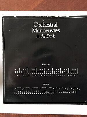 Orchestral Manoeuvres In The Dark. Vinyl. Electricity Almost. 7""