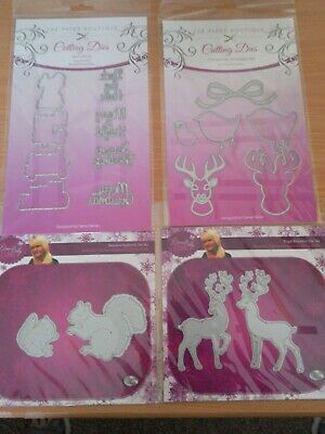 Cute Winter Mittens Cutting Dies by M/&C Boutique