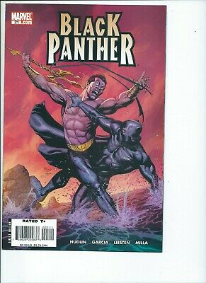 Black Panther #18A Cho Variant FN 2006 Stock Image