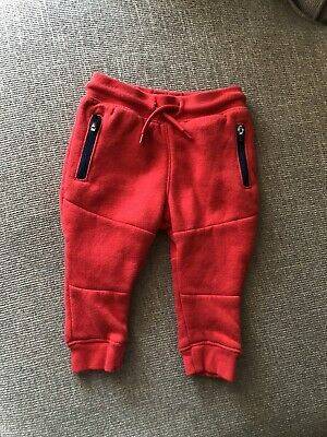 Lot (2) Osh Kosh Garanimals 6-9 months Boys Infants Pants Red And Blue