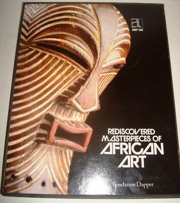 Rediscovered Masterpieces Of African Art Fondation Dapper 1987 Limited Edition