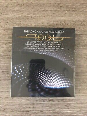"New Tool Cd Fear Inoculum 4"" Hd Deluxe Limited Edition Sold Out Video Screen!"