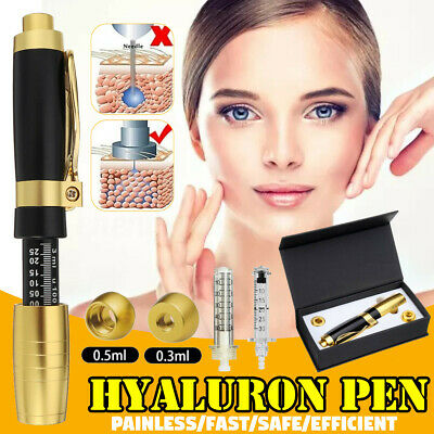 0.5ml Acide Hyaluronique Hyaluron Stylo Non Invasif Seringue Injection