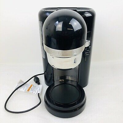 KitchenAid KCM1204OB 12-Cup Coffee Maker One Touch Brewing Black New - No Carafe