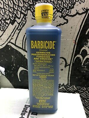 Barbicide Disinfectant Concentrate Solution Anti-rust Formula Germicidal 473ML