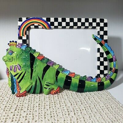 Diane Kwiecien Wonderful Lizard Of Oz Character Collectibles Picture Photo Frame