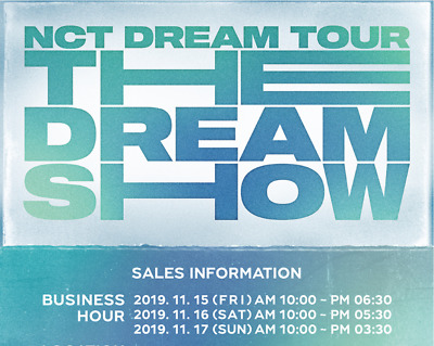 [Nct] Nct Dream Tour The Dream Show Official Merchandise + Tracking + Gift