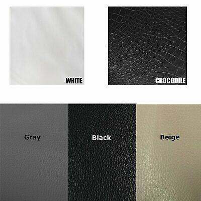 Finish Marine Upholstery Vinyl Fabric Fake Leather Weatherproof Easy Cut Fabrics