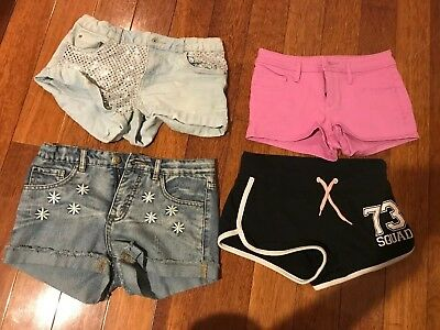 Bundle of four pairs of Girl's Shorts (Size 12)